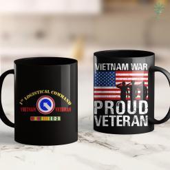 Veterans Pick Up Donations 1St Logistical Command Vietnam Veteran 11Oz 15Oz Black Coffee Mug %tag familyloves.com