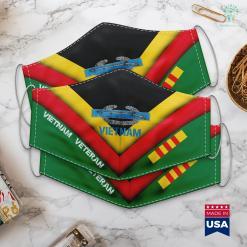 Vietnam Veterans Day Army Combat Infantry Vietnam Military Face Mask Gift %tag familyloves.com