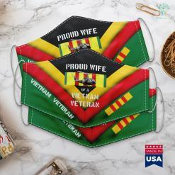 Vietnam War Hat Proud Wife Of A Vietnam Veteran Uh 1 Huey Face Mask Gift %tag familyloves.com