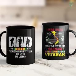 Vietnam Clothes Dad Vietnam Veteran The Myth The Legend Military Father Gift 11Oz 15Oz Black Coffee Mug %tag familyloves.com