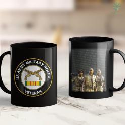 Vietnam Veteran Memorial Military Police Vietnam Veteran 11Oz 15Oz Black Coffee Mug %tag familyloves.com