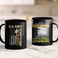 Vietnam Veteran Search U.S. Navy Vietnam Veteran American Flag Gift 11Oz 15Oz Black Coffee Mug %tag familyloves.com