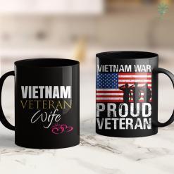 Vietnam Veterans Pickup Cute Wife Of Vietnam Veteran Outfit Gift Idea Tee 11Oz 15Oz Black Coffee Mug %tag familyloves.com