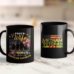 Vietnam Vets Pick Up Proud Wife Of A Vietnam Veteran Gift 11Oz 15Oz Black Coffee Mug %tag familyloves.com