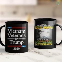 Vietnam Veterans Benefits Mens Proud Dad Gramps Vietnam War Veteran Vintage Vet Tee 11Oz 15Oz Black Coffee Mug %tag familyloves.com