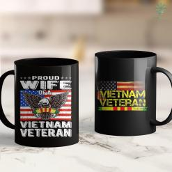 Vietnam Veterans Pick Up Mens Vietnam Veteran Us Army Flag Gift Veteran Day 11Oz 15Oz Black Coffee Mug %tag familyloves.com
