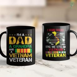 Vvapickup Org Im A Dad A Grandpa And A Vietnam Veteran Christmas Gifts 11Oz 15Oz Black Coffee Mug %tag familyloves.com