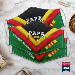 Washington Dc Name Vietnam Veteran Gifts Papa Vietnam Veteran Face Mask Gift %tag familyloves.com
