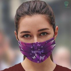 What To Get Mom For MotherS Day Purple Awareness Ribbon Face Mask Gift %tag familyloves.com