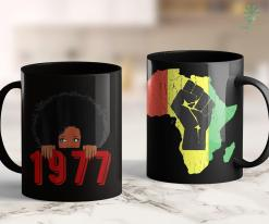 Who Started Black Lives Matter Womens Black Queen Born In 1977 42Nd Awesome Birthday Gifts 11Oz 15Oz Black Mug %tag familyloves.com
