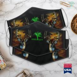 Best Hunting Rifles Raccoon Coon Hunting Night Life Raccoon Gifts Cloth Face Mask Gift %tag familyloves.com