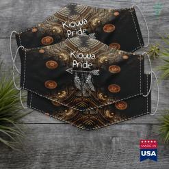 Native American Porn Kiowa Pride Native American Proud Nice Gift Men Women Kids Cloth Face Mask Gift %tag familyloves.com