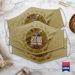 Reddit Job Hunting Funny Coon Hunting Raccoon Hunters Tee Cloth Face Mask Gift %tag familyloves.com