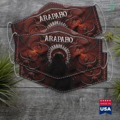 Thunderbird Native American Arapaho Native American Cloth Face Mask Gift %tag familyloves.com