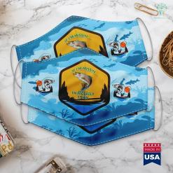 Warframe Norg Fishing Spot Im Missin Im Fishin Funny Fishing Novelty Gift Cloth Face Mask Gift %tag familyloves.com