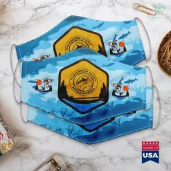 Wow Fishing Poles Grander Alley Kona Hawaii Fishing Cloth Face Mask Gift %tag familyloves.com