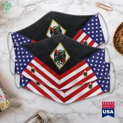 1St Foreign Regiment 1Er Regiment Etranger French Foreign Legion Military Times Cloth Face Mask Gift %tag familyloves.com