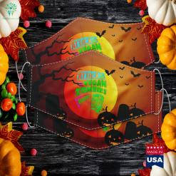 Attack Of The Vegan Zombies Vegetarian Halloween Where To Buy A Costume Cloth Face Mask Gift %tag familyloves.com