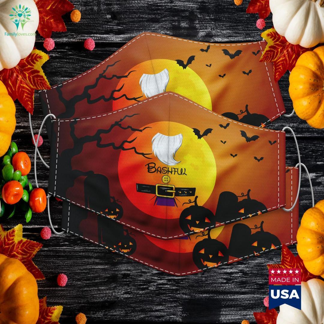Bashful Dwarf Halloween Costume Bashful Dwarf Gift Halloween In July Cloth Face Mask Gift %tag familyloves.com