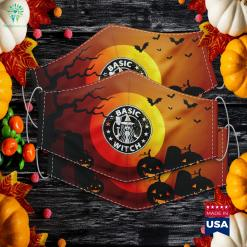 Basic Witch Halloween Vintage Style Halloween Xweetok Cloth Face Mask Gift %tag familyloves.com