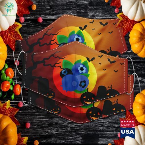 Blueberry Fruit Easy Lazy Diy Halloween Costume Halloween Treats Cloth Face Mask Gift %tag familyloves.com