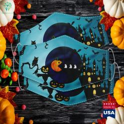 Halloween S For Women Kids Men Pumpkin Ghosts Halloween Party Games Cloth Face Mask Gift %tag familyloves.com