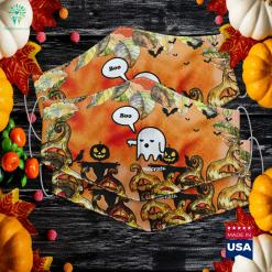 I Hate Democrats Anti Democrat S Halloween Ghost Boo Halloween Warehouse Near Me Cloth Face Mask Gift %tag familyloves.com