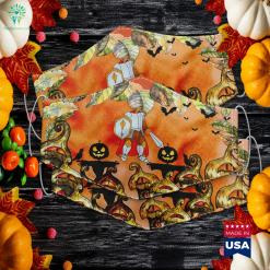 Memere Shark Doo Doo Doo Grandma Halloween Christmas Halloween Cake Off Winner Cloth Face Mask Gift %tag familyloves.com