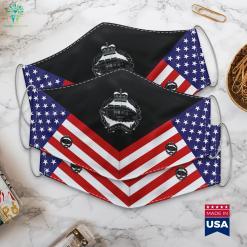 Royal Tank Regiment Black British Army Canadian Army Ranks Cloth Face Mask Gift %tag familyloves.com