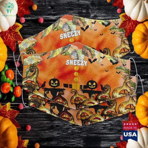 Sneezy Dwarf Costume Halloween Christmas Gift Sneezy Which Halloween Costume Cloth Face Mask Gift %tag familyloves.com