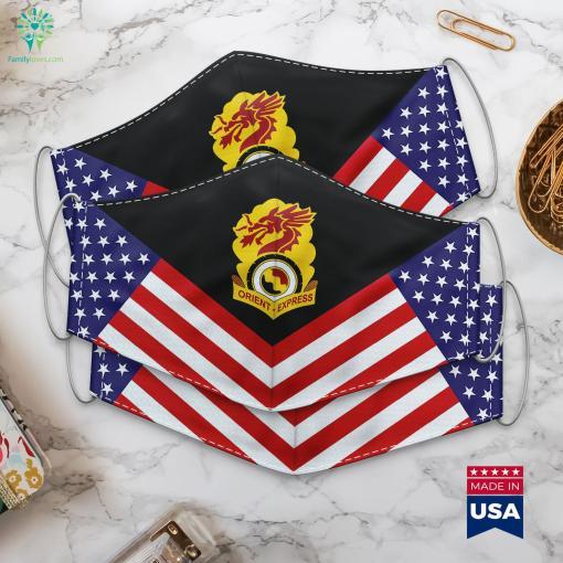 Us Army 7Th Transportation Battalion Dui Ltc Army Rank Cloth Face Mask Gift %tag familyloves.com