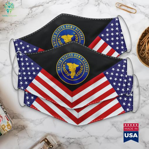 Us Army Army Reserve Seal Army Military Hats Cloth Face Mask Gift %tag familyloves.com