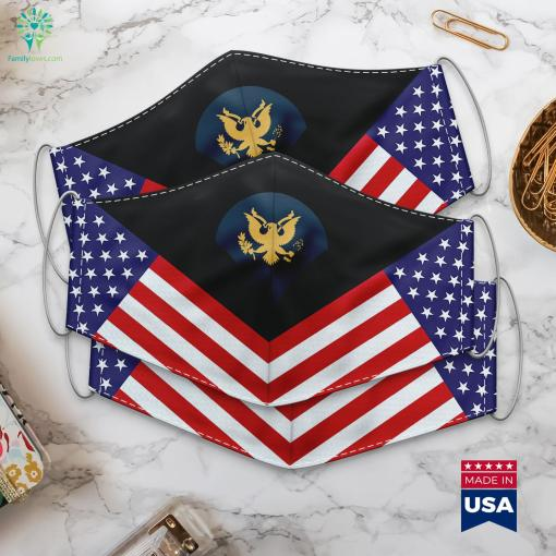 Us Army Specialist E 4 What Is The Highest Military Rank Cloth Face Mask Gift %tag familyloves.com
