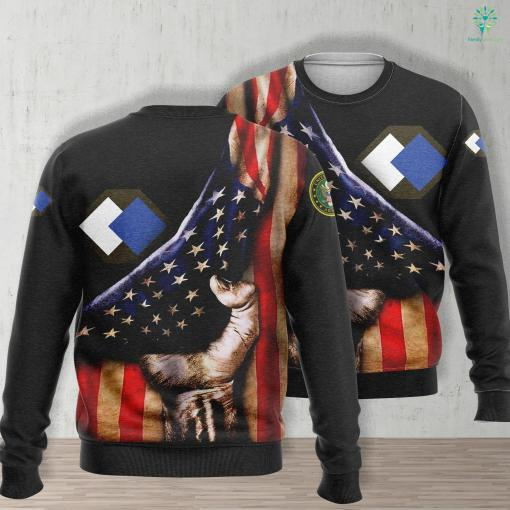 Us Army Wtf 96Th Infantry Division Ssi Unisex Long Sleeve Sweatshirt All Over Print %tag familyloves.com