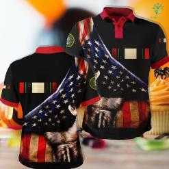 Utah Army National Guard Iraq Campaign Ribbon Polo Shirt All Over Print %tag familyloves.com