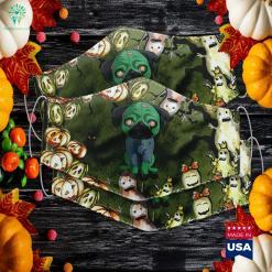 Terraria 2020 Halloween Event Zombie Pug Funny Dog Halloween Gif Halloween Event Terraria Cloth