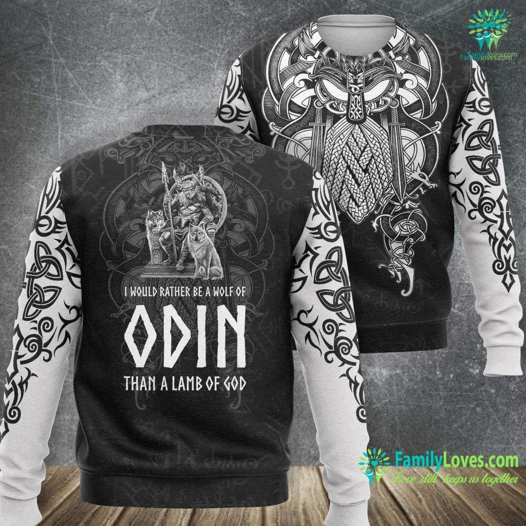 Raven Ring Odin Viking God Asatru Nordic Paganism Norse Mythology Viking Sweatshirt All Over Print Familyloves.com