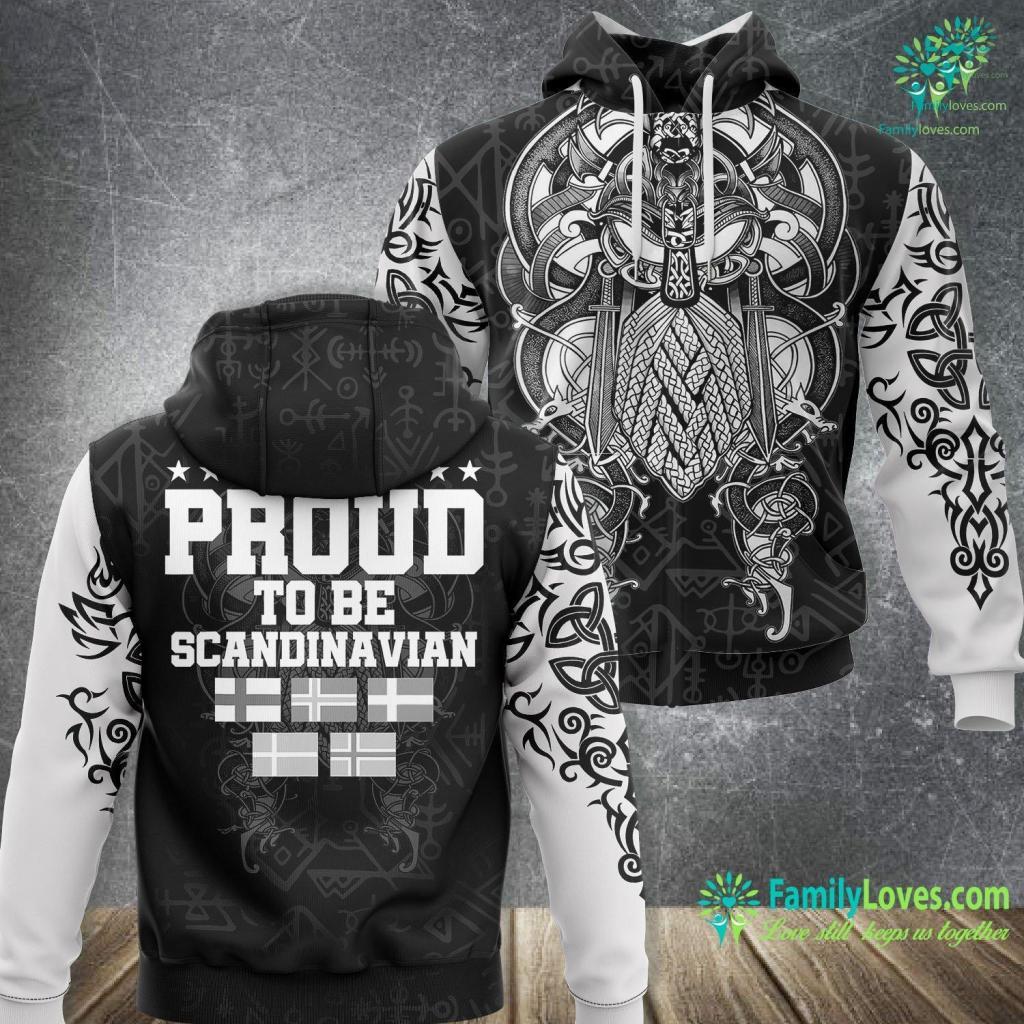 Rus Definition Lovley Viking For Proud Nordic Scandinavian Viking Unisex Hoodie All Over Print Familyloves.com