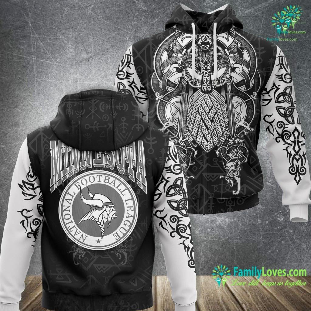 Viking Store Mn Vikings Apparel Viking Unisex Hoodie All Over Print Familyloves.com