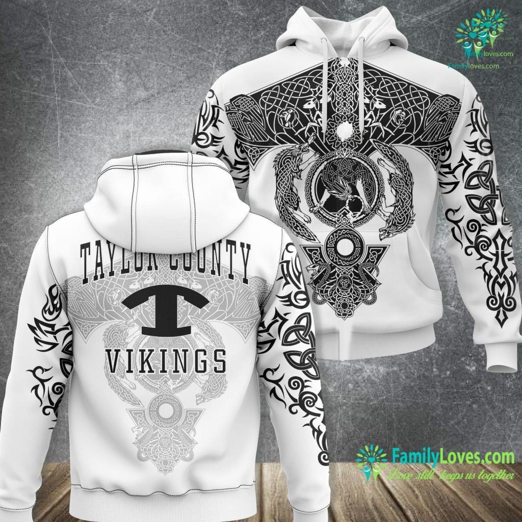 Yamaha Viking For Sale Taylor County High School Vikings C1 Viking Unisex Hoodie All Over Print Familyloves.com