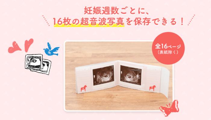 『超音波写真アルバム』&『今治ハンドタオル』:Benesseこどもちゃれんじ2
