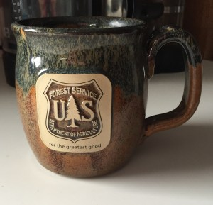 Handcrafted by Sunset Hill Stoneware in Wisconsin. Given to me as a gift.