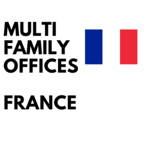 List of multifamily offices in France