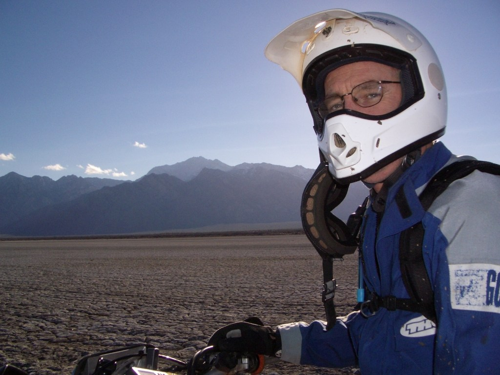 Neil MacDannad on Laguna Diablo