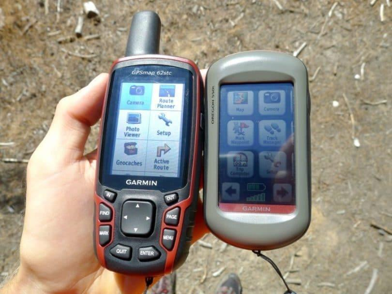 Comparing GPS Display Sizes