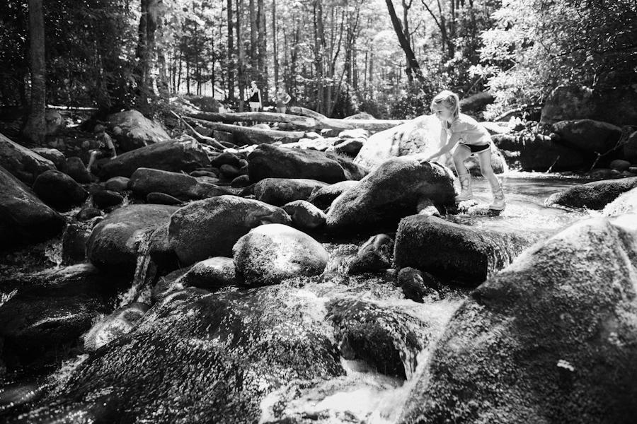creek play - daniel