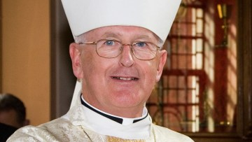 Pope accepts resignation of the Bishop of Menevia