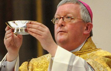 Archbishop Longley extends welcome to Pope Benedict XVI