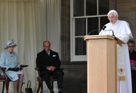 Pope Benedict XVI's Speech to The Queen