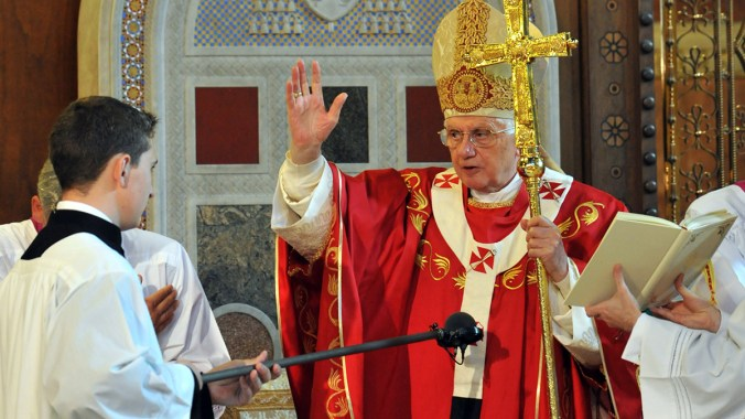 Pope Benedict's Westminster Cathedral Homily